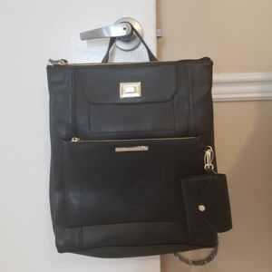 Brand new Steve Madden backpack and wallet